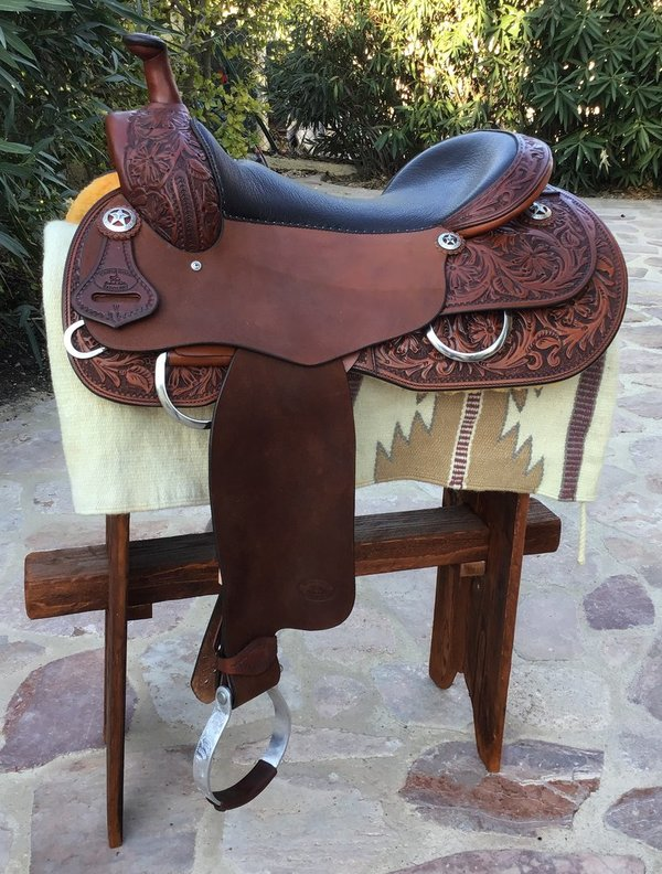 Triple Horn Working Cowhorse Saddle